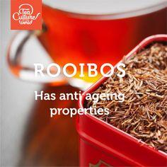 Rooibos has anti ageing properties