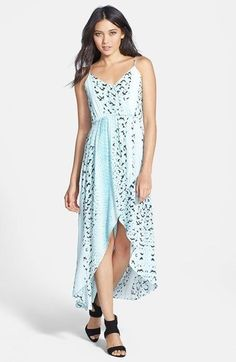 Bardot Print Faux Wrap Dress (Nordstrom Exclusive) is on sale now for - 25 % ! is on sale now for - 25 % !