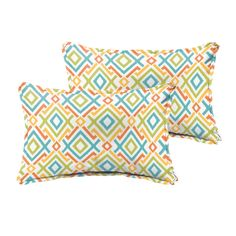 Jenny Tropical Indoor/Outdoor Lumbar Pillow