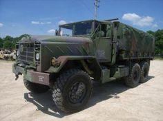 1990 BMY Division of Harsco Cargo Truck on GovLiquidation. Dump Trucks For Sale, Big Trucks, Military Surplus, Military Vehicles, 6x6 Truck, Dodge Power Wagon, Rolling Stock, Military Equipment, Armored Vehicles