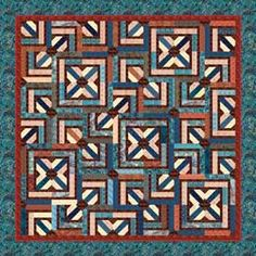Bali Cream Crackle Quilt Pattern uses 2 1/2 strips