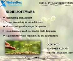 We websoftex software solution are lead in providing Nidhi Software with free demo all over India. Our Nidhi Software is build to meet your complete Nidhi company Operation process with direction of all experienced people ,who are managing such institution. #OnlineNidhiSoftware #NidhiSoftwareCompany  #topNidhiSoftware #NidhiSoftwareWebBasedApplication #IndiaBestNidhiSoftware #nidhiCompanySoftwareDemo #nidhiCompanySoftwarePrice Saving Bank Account, Banking Software, Core Banking, Trial Balance, General Ledger, Savings Bank, Financial Statement, Online Web, Day Book