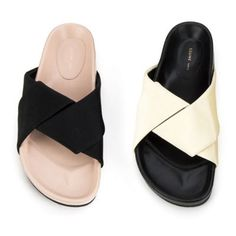 CELINE サンダル・ミュール 【CELINE(セリーヌ)】 Boxy Flat Crepe サンダル