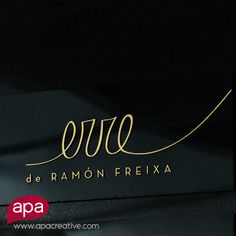 We extended the amazingness of Erre de Ramon Freixa brand from Cartagena to Panama City. This brand says gourmet, elegant and celebration. What does your brand say? #4Days until hotel #GrandOpening  www.apacreative.com