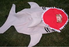 AWESOME!!! Great White Shark Sleeping Bag by Bitezzz. $115.00, via Etsy.