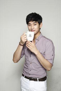 朝鮮日報3/30☆キム・スヒョン、コーヒー専門店のCMを撮影 : BYJ file*ペ・ヨンジュン  ニュース