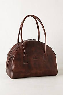 Battuta Leather Weekender, via Anthropologie