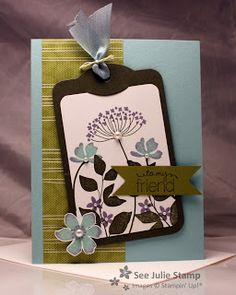 See Julie Stamp - Julie Wadlinger, Stampin' Up! Demonstrator : Just Because - Blog Hop