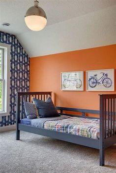 bedroom navy paint colors boys orange benjamin moore popular combination boy tangerine exterior rooms dream bedrooms schemes rustic lake furniture