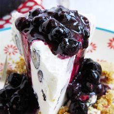 Blueberry Cheesecake Ice Cream Pie      http://www.keyingredient.com/recipes/20964976/blueberry-cheesecake-ice-cream-pie/