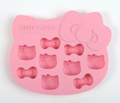 Hello Kitty Die-Cut Ice Cube Tray