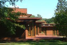 Frank Lloyd Wright's Rosenbaum house in Florence, Alabama