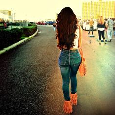 #❤ high waisted jeans carli bel