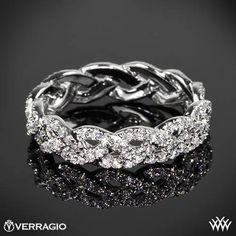Verragio Eternal Braid Diamond Wedding Ring