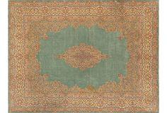 Persian carpet, Kerman--there is none like it