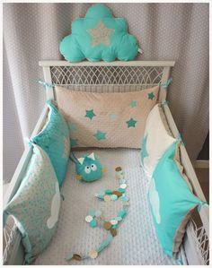 tour de lit b b fille parade d 39 enfant rose et cru b b. Black Bedroom Furniture Sets. Home Design Ideas