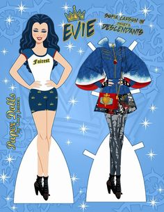 Paper Dolls by Cory has released an awesome new printable paper doll featuring Evie from Disney's Descendants! Again, a pure work of genius is released for every Evie fan to download, print a…