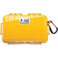 Pelican 1050025240 1050 Micro Case (Yellow/Solid)