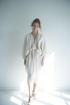 Vintage white dress ... 1930s 1940s 1970s inspiration