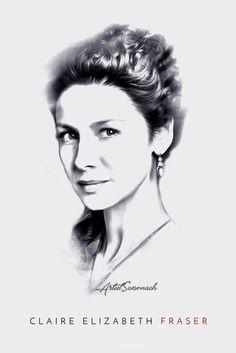 Jamie x Claire: Individual Portrait (B&W)