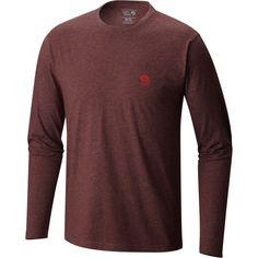 Mountain Hardwear MHW Logo Graphic T-Shirt Heather Redwood XL