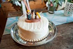 Rustic Barn Wedding Cake