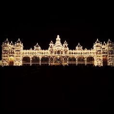 Mysore light up