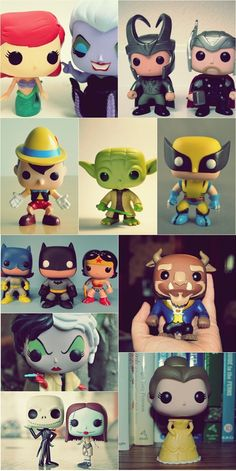 Figuras Funko POP! I want to start collecting these!! <3 AVENGERS FIRST!!