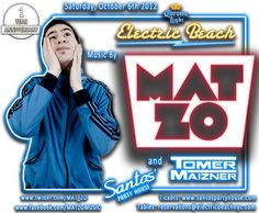 One Year Anniversary of Electric Beach // Mat Zo headlines the celebration party at Santos Party House