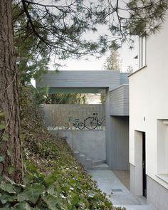 Villa CrissCross Envelope Picture Gallery - A beautiful villa in ljubljana every minimalist will love