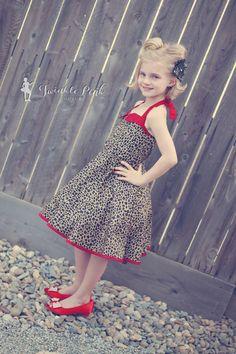 Betty's Girls Fifties Dress PDF Pattern