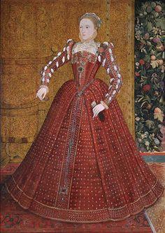 Queen Elizabeth I (1533-1603) by Steven van der Meulen (FL.1543-1568)