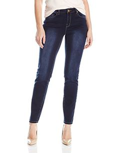 Tribal Womens Dream Jean 5 Pocket Skinny Jegging Navy Blast 10 >>> Click image to review more details.