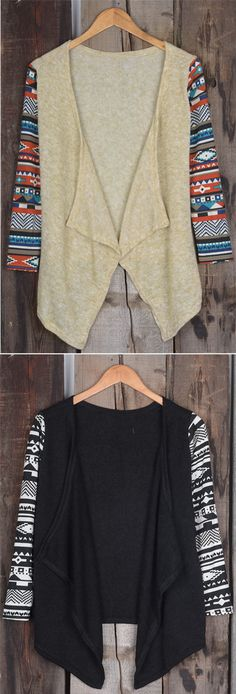 Check this baby, $17.99! Free shipping~ Keep it casual! This front open cardigan is perfect for wearing with anything and everything.  View more outfits at Cupshe.com