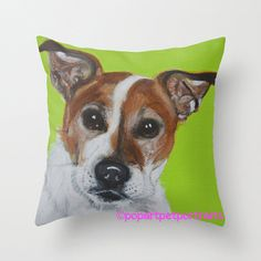 Novelty dog pillow Decorative throw pillow by PopArtPetPortraits, $35.00 https://www.etsy.com/listing/162580710/novelty-dog-pillow-decorative-throw?ref=shop_home_active
