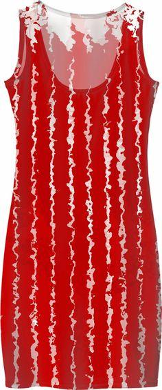 #dress #red #flow #ladies #womens #apparel #clothing #brand #rageon