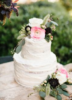 garden nature-inspired cake