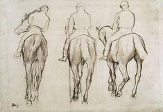 Degas - horses | museworthy