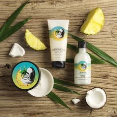 Escape to a sunshine oasis with our Piñita Colada collection. This sun-splashed scent evokes the aroma of freshly blended pineapples and coconuts, basically the tropics in a bottle!