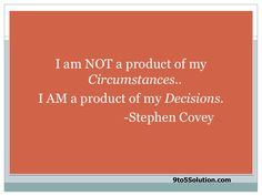 Love me some Stephen Covey!
