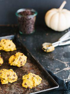 Galettes moelleuses à la citrouille - Science & Fourchette Boite A Lunch, Griddle Pan, Biscuits, Deserts, Menu, Eggs, Science, Snacks, Cookies