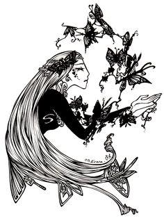 """Psyché"" by Evara Hargreaves"