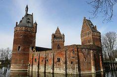 Beersel Castle. Belgium