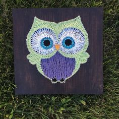 Owl - String Art.  By Sirena Johnson.