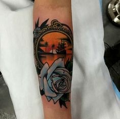 Traditional Tattoo Done by Dan Molloy - http://tattooideas22.com/traditional-tattoo-done-dan-molloy/