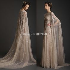 Dress With Cape - Style 2016-2017