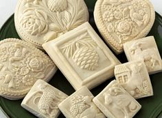Fancy Flours is pleased to announce that we now carry over 100 House on the Hill Springerle Cookie Molds! These molds are designed for making pressed cookies, springerle … Christmas Goodies, Family Christmas, Christmas Baking, Christmas Crafts, Christmas Ornaments, Moka, No Bake Cookies, Cookies Et Biscuits, Xmas Cookies