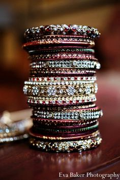 indian-wedding-bride-detail-bangles-traditional http://maharaniweddings.com/gallery/photo/2921
