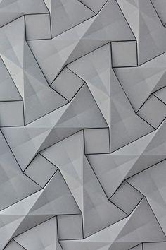 Industrial Design Trends and Inspiration - leManoosh Wall Panel Design, 3d Wall Panels, 3d Texture, Tiles Texture, Wall Texture Design, Textured Wallpaper, Textured Walls, Wall Patterns, Textures Patterns