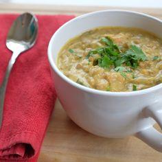 Dr. Fuhrman's Lemon Lentil Soup